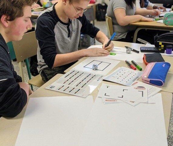 École polyvalente Saint-Jérôme : un projet formateur à partir de la robotique