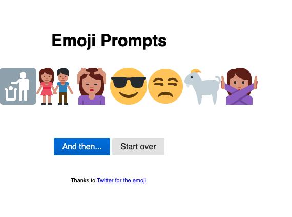 Créativité avec les emojis